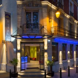 Seine West Hotel Facade